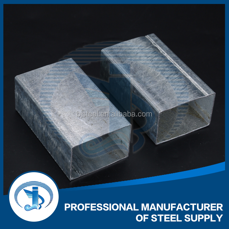 hot rolled q235 galvanized steel pipe Square hollow section steel tube