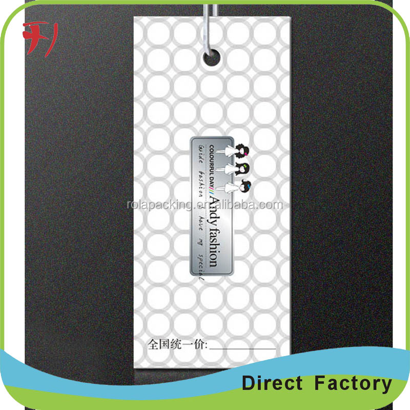 Wholesale Custom colthing tags price and gps tags with logo printed and metal tags for clothing