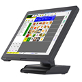 2017 hot sale touch screen computer POS system cash registers