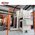 aluminium automatic spray paint machine powder coating line machine