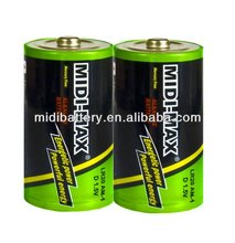 LR20 D size am-1 Changzhou dry alkaline battery manufacture