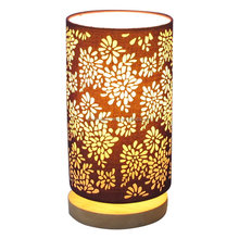 Home goods laser cute brown table lamp