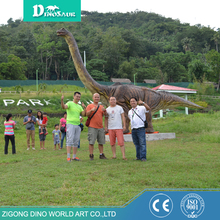 3D Giant Long Neck Artificial Fiberglass Life Size Dinosaur Model