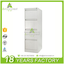 Custom high quality 4 drawer metal vertical filing cabinet