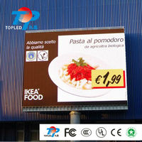 High definition of P6 outdoor fullcolor led panel