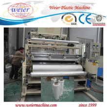 China supplier PE cast stretch film extrusion line