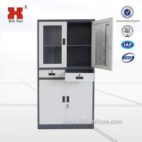 Hot Sale Latest Thin-Rimmed Design Lockable Glass Display Cabinets For America&Europe&Middle East Market Office Furniture
