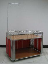 Supermarket Foldable Promotional Trolley,Promotional Cart