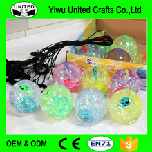 Promotion Rubber High Bouncing Ball with LED Light