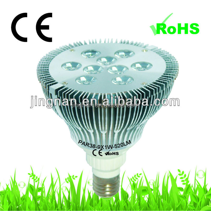 cob par38 cob led lamp 16w 1200lm