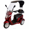 NEW Sport Elite Traveller 3 Wheeled Power Mobility Scooter With Roof Rain Cover Sun Shade