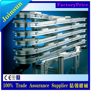 food grade belt conveyor cake cooling spiral system