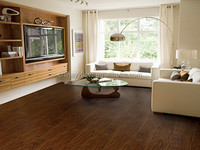 12.3mm laminate HDF wooden floor commercial class