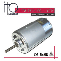 Brushed RS 750 9V -18V 15W -160W output dc motor