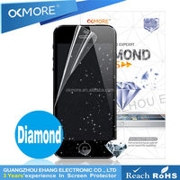 Twinkling diamond lcd protective film for htc legend