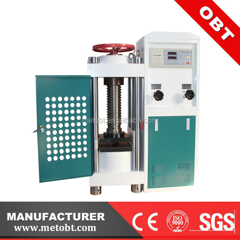 YES-1000 Manual Digital Concrete Compressive Strength Testing Machine