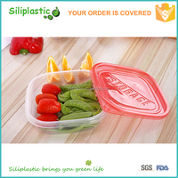 Best selling microwavable food grade food container plastic