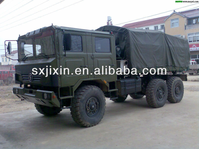 Used Shaanxi Military Truck 6x6 for sale