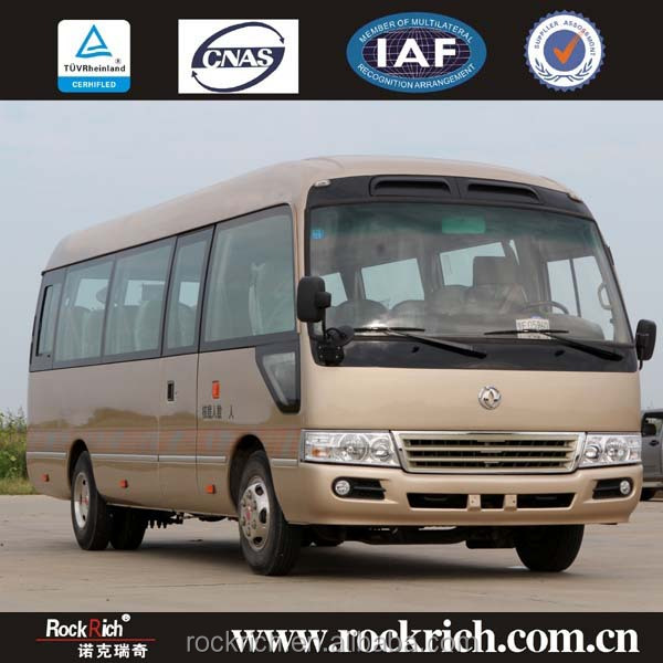 Dongfeng Good Price 25 Seater RHD Toyota Coaster Bus For Sale