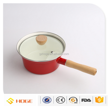 Indoor Outdoor Enamel Cooking Pots Pans