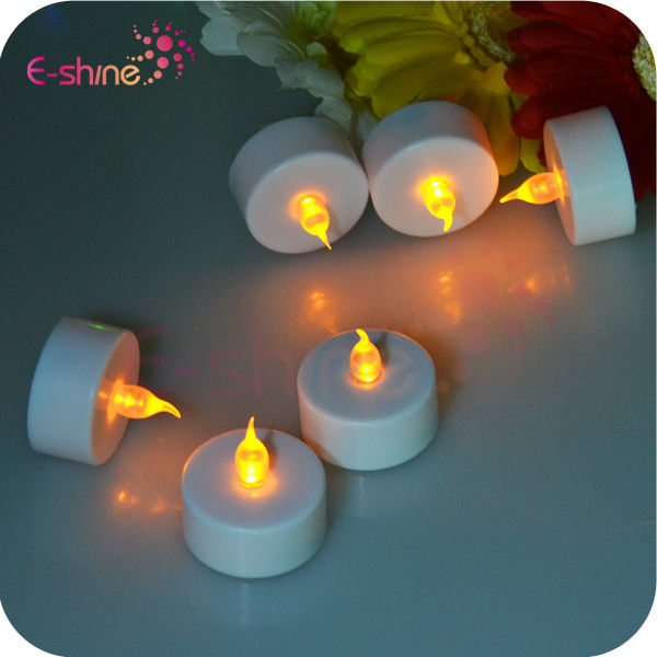 2014 New Products Flashing Color Changing Flameless Rose Led Candle