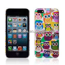 Cute Owl Design your own mobile phone case,for iphone 5C Hard back case