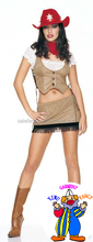 sexy cowgirl costumes women cowgirl costumes Fancy Dress Costume Outfit QAWC-2405