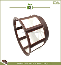 Good feature super quality nylon mesh round basket coffee filter