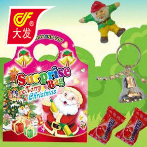 christmas surprise bag toy candy