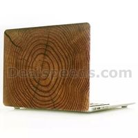 Tree Stripes Wooden Hard Case for MacBook Air 11.6 Inch Wood Cover, for MacBook Case