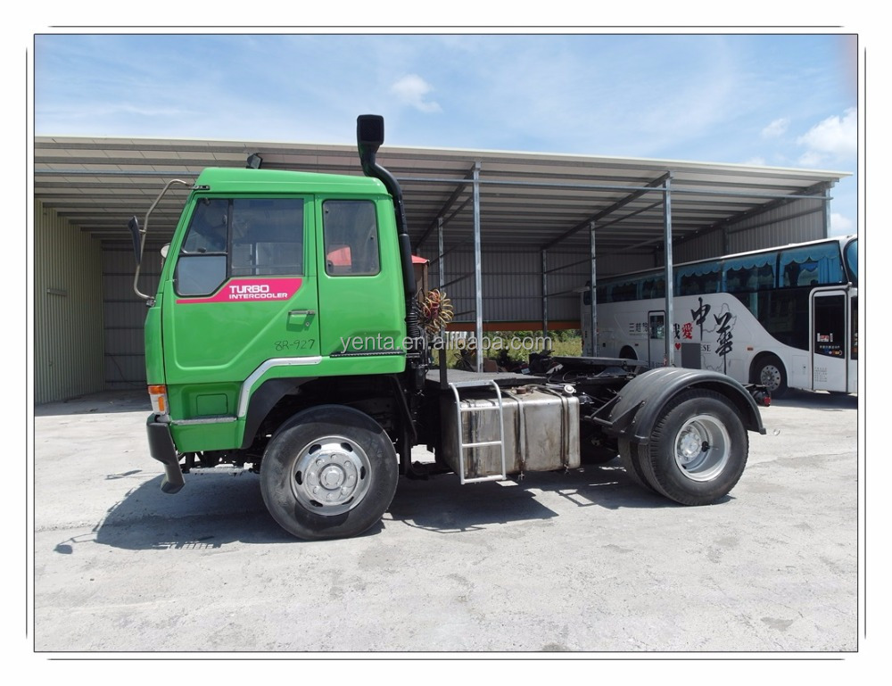 Used Japanese LHD tractor truck head for sale