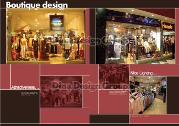 Fellini Clothes Shop Design