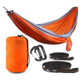 2017 New Style Double Camping Hammock with Straps and Carbiners