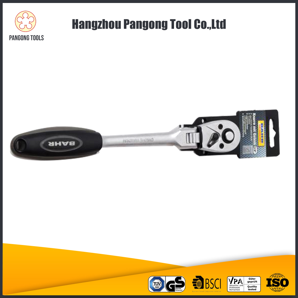 Fashion Ratchet Handle With Grip Quick Release Wrench