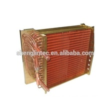 Cold storage air cooled condenser