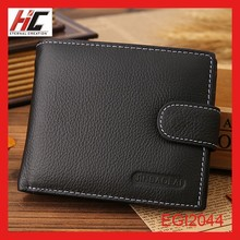 new product china alibaba high quality leather coin wallet business men wallet fashion metal clasp for purse