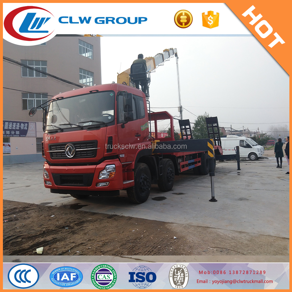 XCMG 16 8*4 Tons truck crane with DongFeng chassis