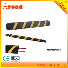 integral flexible 1830mm black & yellow traffic calming