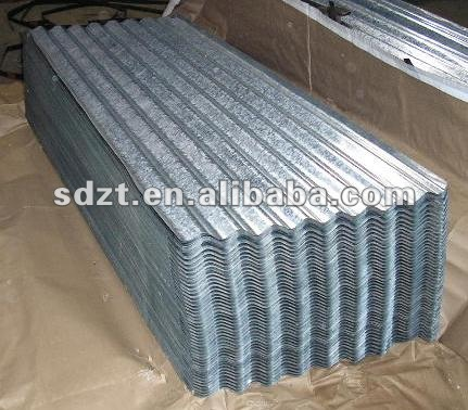 curved steel sheets/ roofing material/ galvanized sheets
