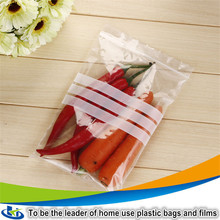 Transparent customized reclosable ziplock bag certificate food grade plastic bags for spices