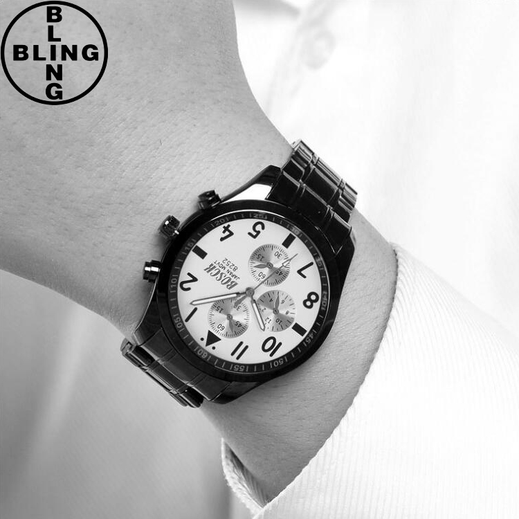 Watch 2017 Men fashion custom logo watches wholesale stainless steel mesh brand your own watches