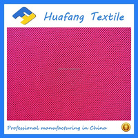 100% polyester diamond knitted mesh fabric with the hole size 1mm