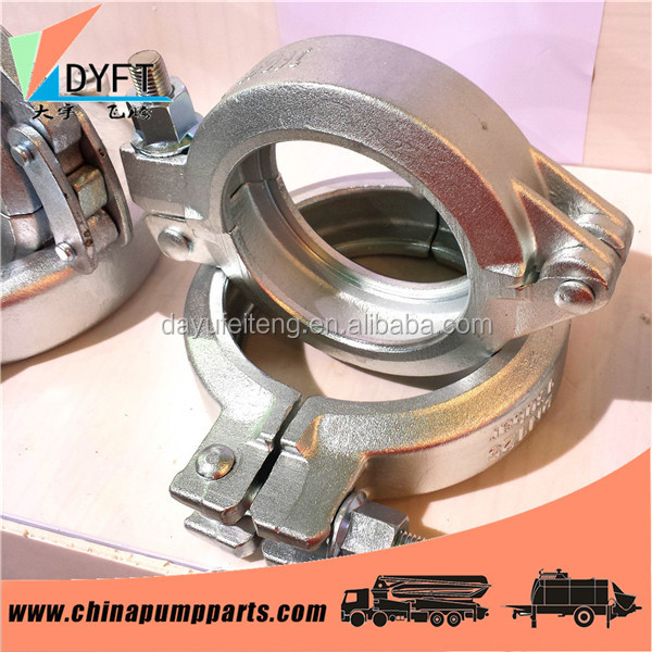constriuction pipe fittings forging hi-mn carbon steel supplier clamp on pipe fittings