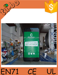 hot sell ! giant inflatable mobile phone /inflatable cell phone for inflatable advertising