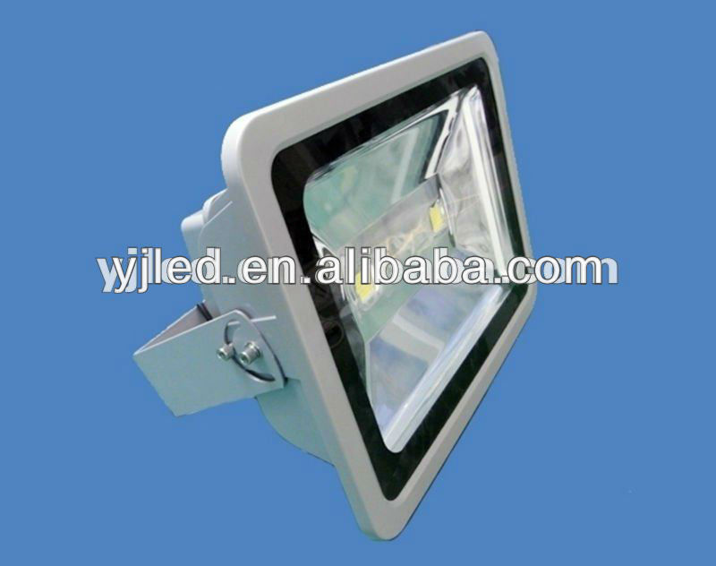 100W waterproof IP65 die cast aluminum led flood light housing 80-110LM/W with CE&ROHS