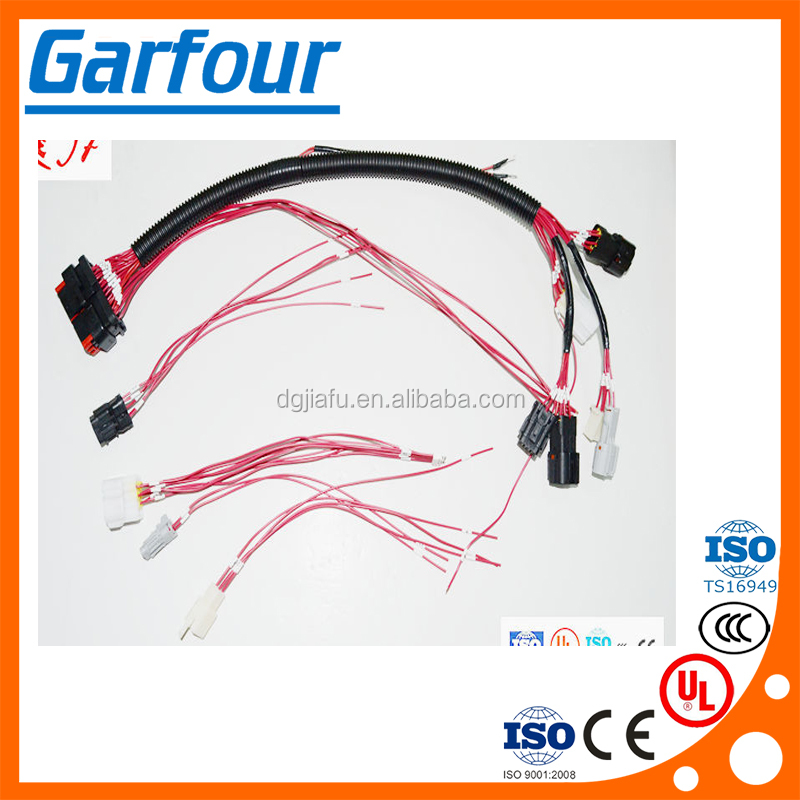 custom cable wire harness assembly auto wire wire harness assembly dolgular com  at gsmportal.co