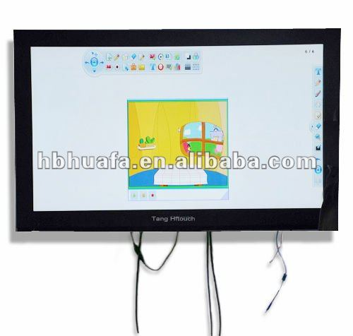 65inch infared multi touch screen panel kit for LCD touch TV