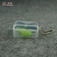 EAR PROTECTION, CORDED SILICONE EARPLUG WITH CASE