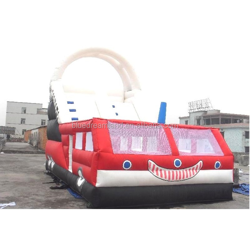 Most popular big bus inflatable bouncer