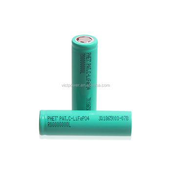 18650 lifepo4 battery cell 1450mah 3.2v Deep cycle battery for electric car